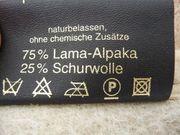 Luxus Lama-Alpaka Naturhaardecke