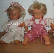 2 Zapf Puppen Babypuppen