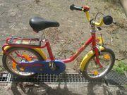 Kinderfahrrad Puky rot gelb 16