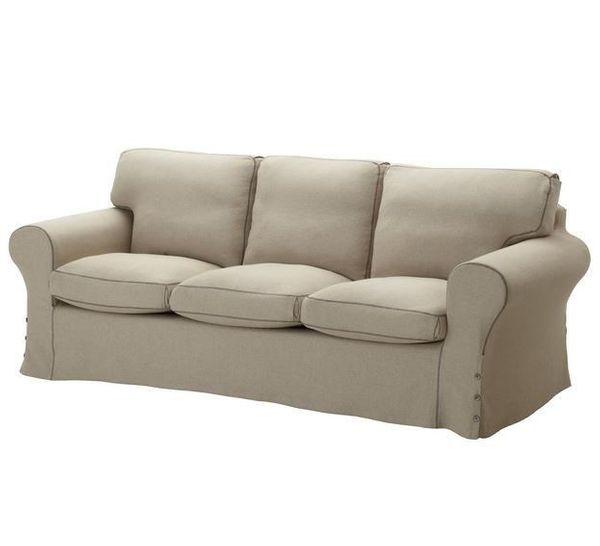 Biete Ikea Ektorp 3er Sofa Und Ektorp Hocker In Landsberied Ikea