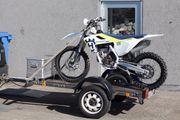 Leichter Motorrad Anhänger/