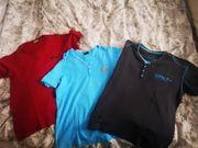 3 MARKENshirts T-Shirts Größe L