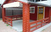 Blockbohlenhaus Gartenhaus *Alicante