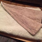 Set Unterbett Kissenüberzug aus reiner