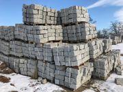 Mauersteine aus Granit 20x20x40 grau
