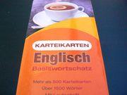 Karteikarten Englisch