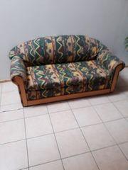 Couch Schlafsofa Sofa 2-Sitzer