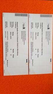2 Eintrittskarten für Klassik Radio
