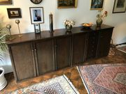 Braunes Holz Sideboard /