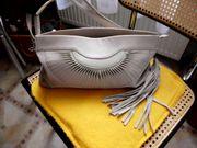 Damenhandtasche hellgrau