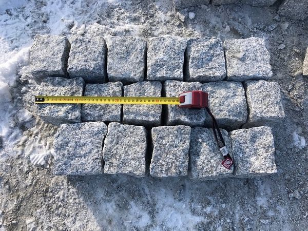 Granit Pflastersteine 9 X 11 Granitpflaster Grau Naturstein