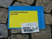 Betriebsanleitung Audi 80