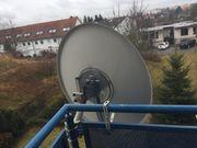 Satellit Schüssel mit