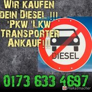 wir kaufen ihren Diesel Ankauf