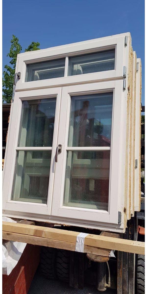 10 x hochwertige holzfenster 107x130 cm mit sprossen gebraucht mit 2 fach verglasung klar in. Black Bedroom Furniture Sets. Home Design Ideas