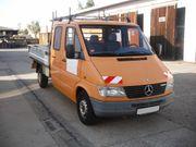 Mercedes-Benz Doppelkabiner 312D Sprinter TOP