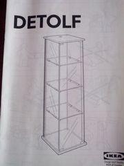 Ikea Vitrine Detolf