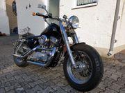 Harley-Davidson Sportster XL 883 Fatboy-Umbau