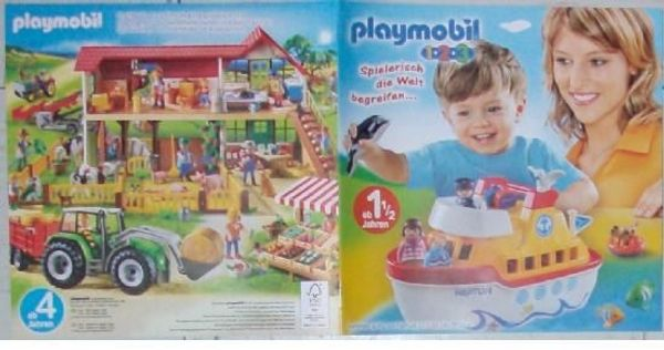 Playmobil Zusatzkataloge Ergänzungen und Zubehör