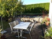 Gartenbau, Gartenpflege, Natursteinmauer,