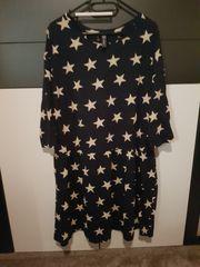 Sternenkleid Bonprix schwarz Gr 48