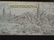Rostock Federzeichnung auf