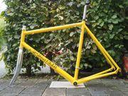 Rennradrahmen 2Danger, gelb,
