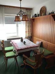 Bauernstube Tisch Stühle Eckbank Kommode