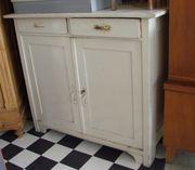 Küchenschrank Antik Grüderzeit