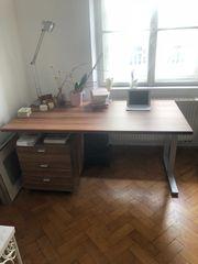 Schreibtisch Rollschubladenkasten