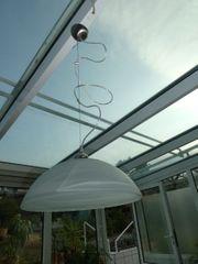 Deckenlampe Alabaster Glas Mit Edelstahl Aufhangung