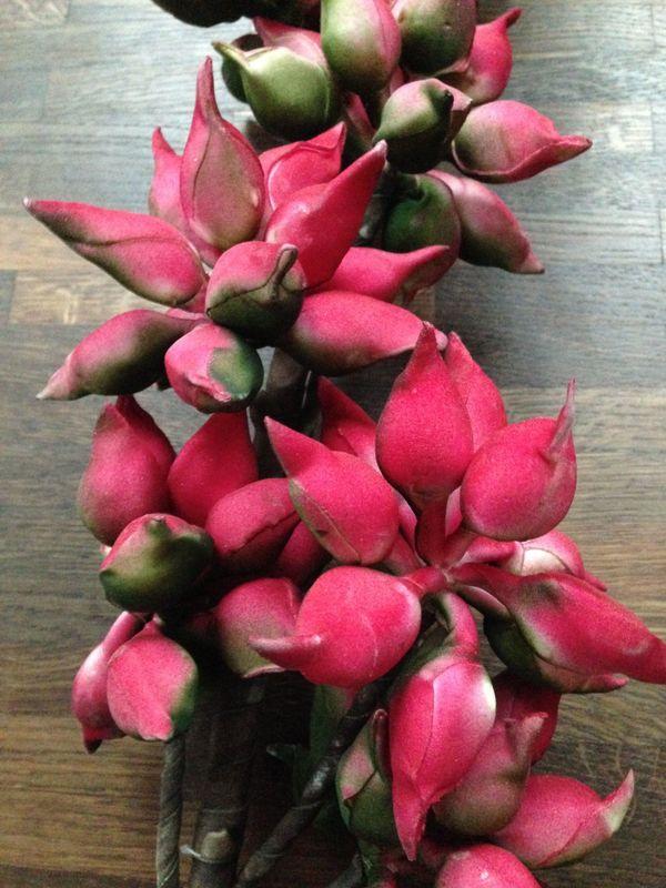 Deko Blumen deko blumen künstliche blumen rot pink grün pflanze blüten