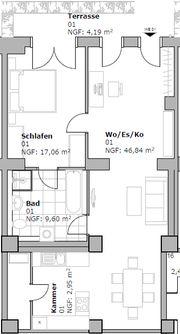 Schicke neue Wohnung in Heroldsberg