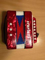 mini Ziehharmonika selbst spielend elektronisch