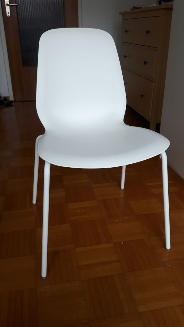 Ikea Leifarne Stühle Weiß Zu Verkaufen In Karlsruhe Ikea Möbel