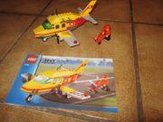 7732 Lego City Postflugzeug