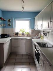Einbauküche mit Backofen Granitspüle Cerankochfeld