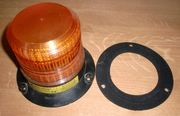 2x Blitz-Leuchte Orange 230V Delta