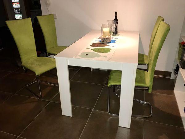 Tischgruppe 4 Stuhle In Ulm Speisezimmer Essecken Kaufen Und