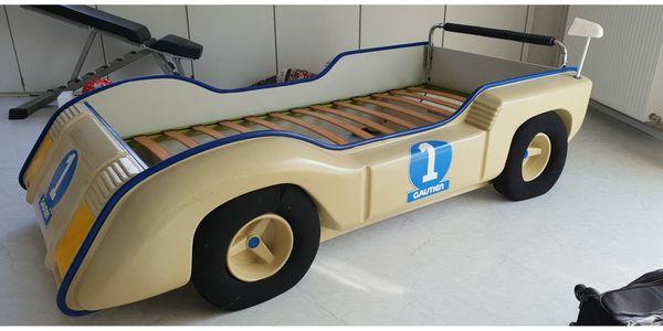 kinder auto design bett aus