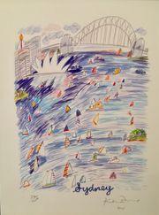 Kunstdruck Sydney Harbour von Ken