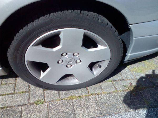 4x Opel Omega B Winterreifen
