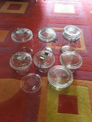 Einwek-gläser zum einkochen