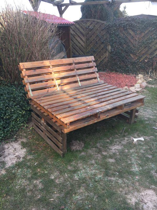 Gartenbank kaufen gartenbank gebraucht - Gartenbank aus paletten ...