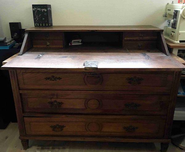 Antik Möbel Kommode Waschkommode Spiegelkommode Sekretär Eiche