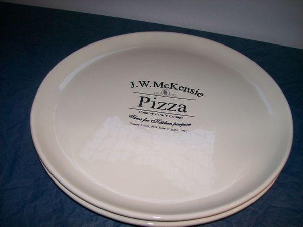 Pizza Teller Neuwertig! » Geschirr und Besteck