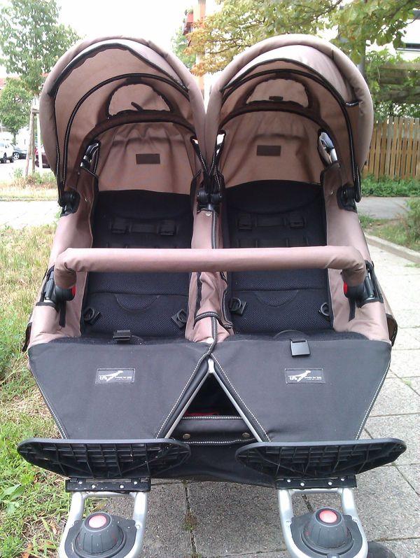 Zwillings- Geschwisterkinderwagen TFK Twinner Twist