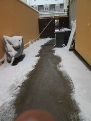 Ich biete Winterdienst und Kehrdienst