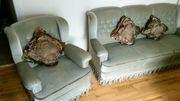 Sofa lindgrün 3-