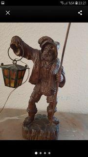 Alte Holz Deko Figür